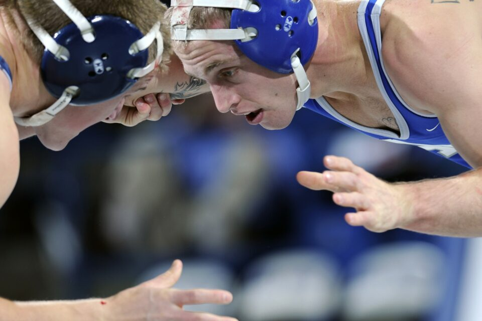 Wrestling Sports Grappling Grasping Close-Up Macro
